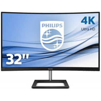 "Philips E Line 328E1CA/00 LED display 80 cm (31.5"") 3840 x 2160 Pixel 4K Ultra HD LCD Nero"